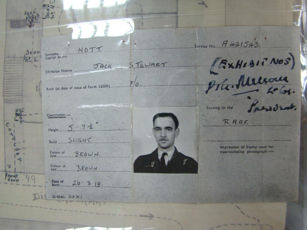Flying Officer Jack Steward Nott