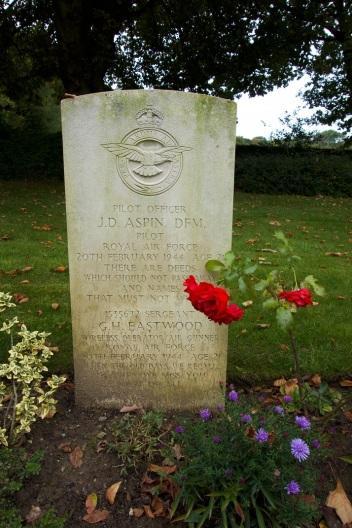 Landon - aspin grave at hotton