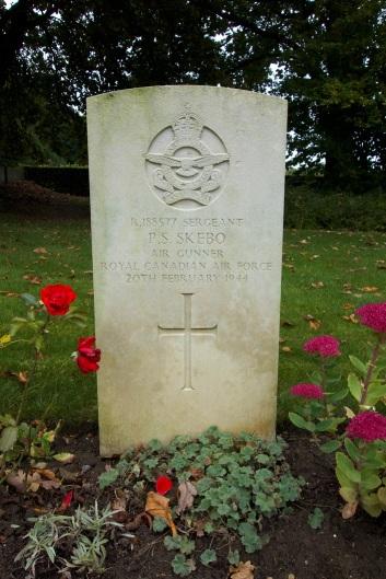 Landon - Skebo grave at Hotton