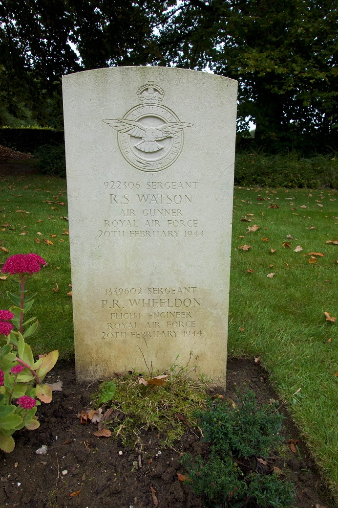 Landon - Watson grave at Hotton