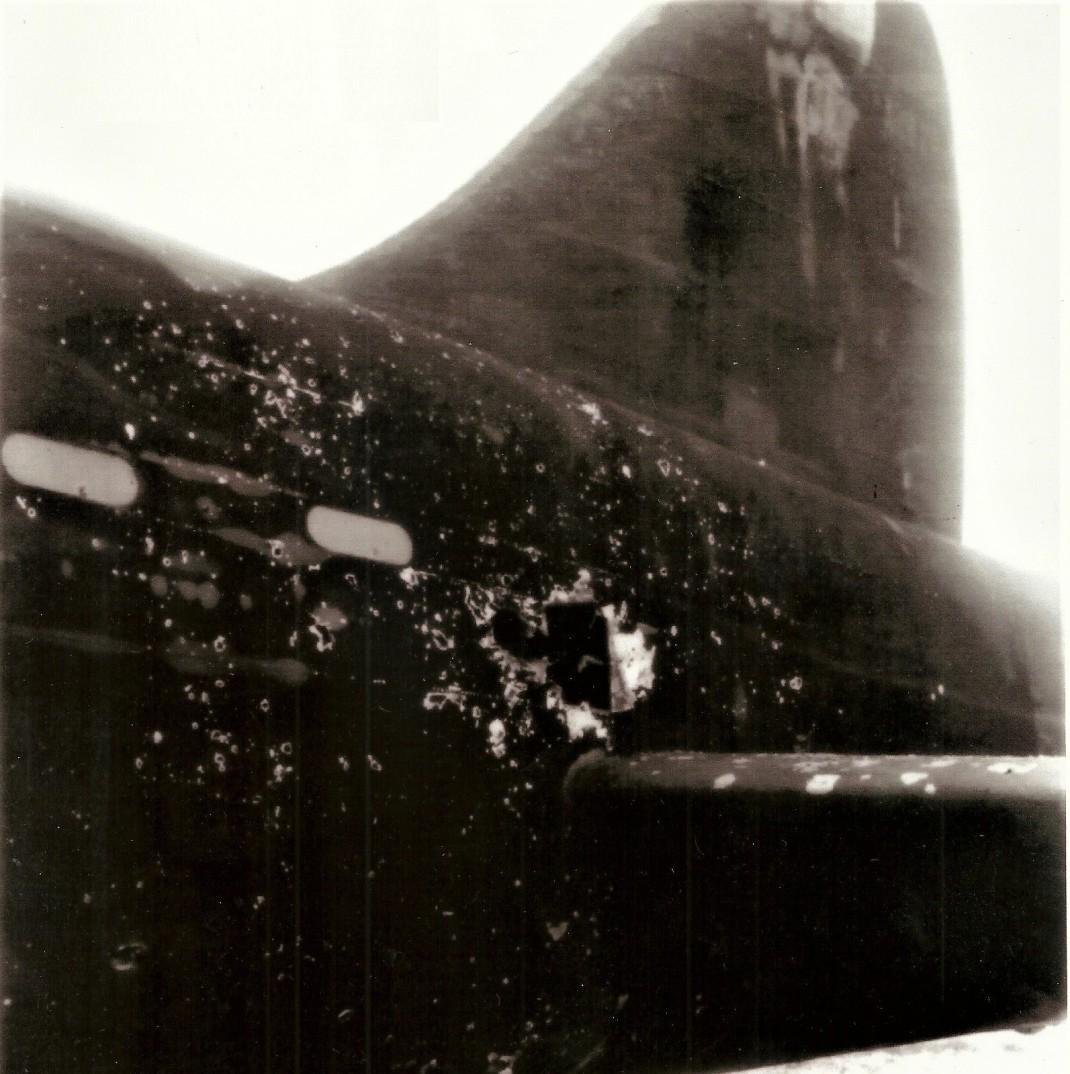 damaged avro manchester